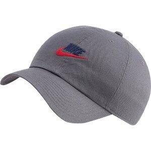 ナイキ Nike メンズ キャップ 帽子【Sportswear H86 Cotton Twill Adjustable Hat】Iron Grey