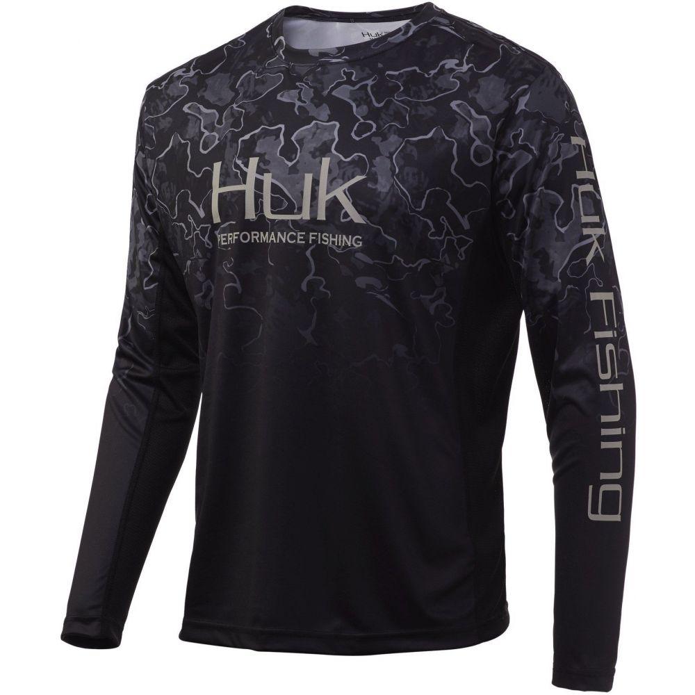 ウェア, その他  HUK Icon X Camo Fade Performance Fishing Long Sleeve Shirt (Regular and Big Tall)Hannibal Bank