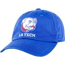 トップオブザワールド Top of the World メンズ 帽子 【Louisiana Tech Bulldogs Blue Crew Adjustable Hat】