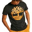 ティンバーランド Timberland メンズ Tシャツ トップス【Seasonal Graphic T-Shirt】Black Tree