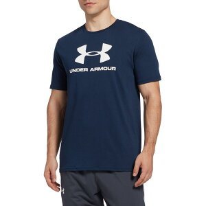 アンダーアーマー Under Armour メンズ Tシャツ トップス【Sportstyle Big Logo Graphic T-Shirt】Academy