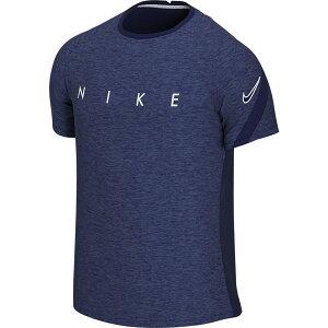 ナイキ Nike メンズ Tシャツ ドライフィット トップス【Dri-FIT Academy Heathered Graphic T-Shirt】Blue Void