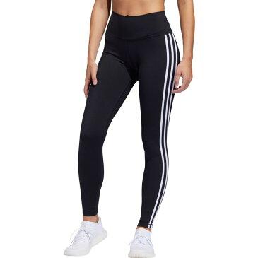 アディダス adidas レディース スパッツ・レギンス インナー・下着【Believe This 3 Stripes Tights】Black/White