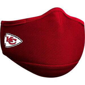 ニューエラ New Era ユニセックス 雑貨 【Adult Kansas City Chiefs Red Face Mask】