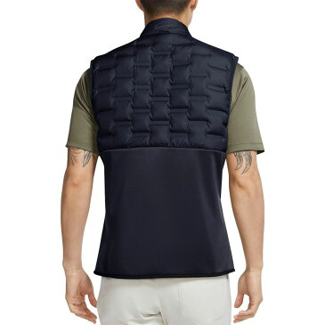 ナイキ Nike メンズ ゴルフ アウター【AeroLoft Repel Golf Vest】Obsidian