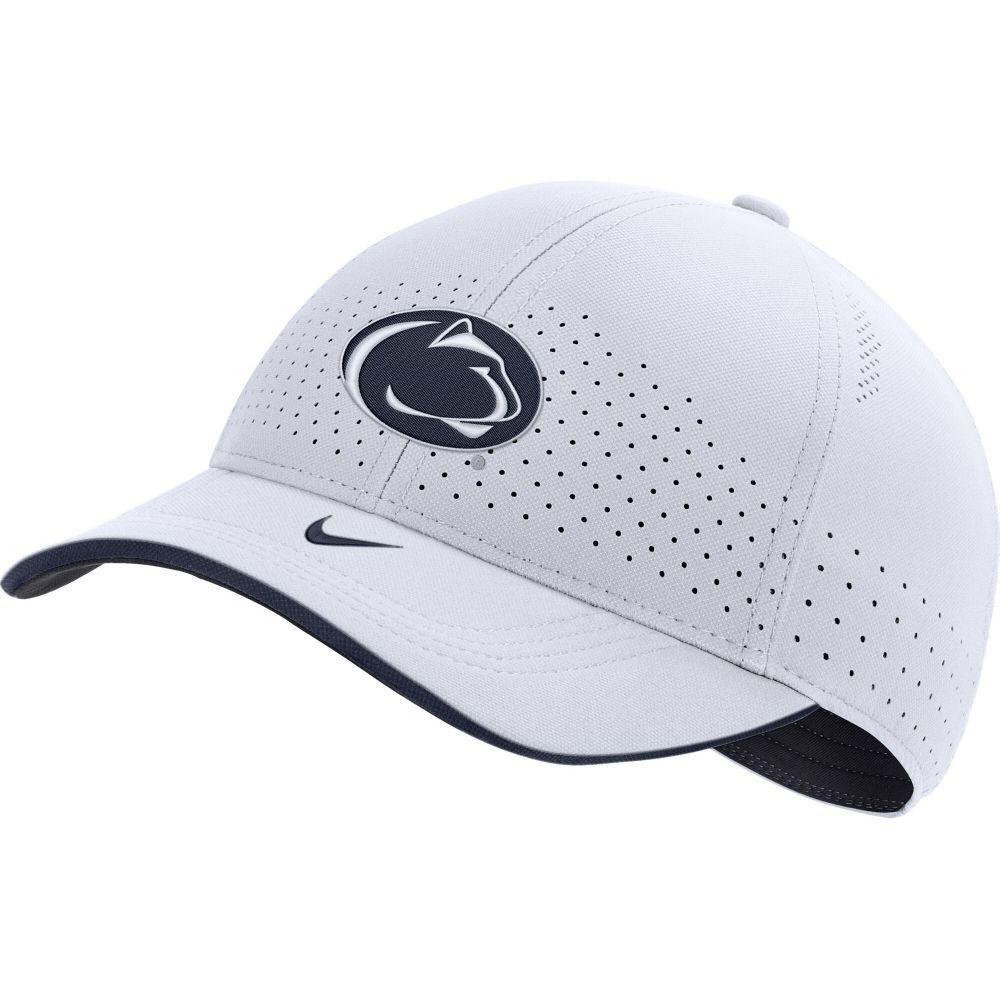 メンズ帽子, キャップ  Nike Penn State Nittany Lions AeroBill Classic99 Football Sideline White Hat