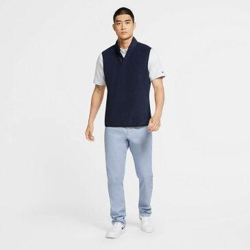 ナイキ Nike メンズ ゴルフ ハーフジップ アウター【Therma Victory 1/2 Zip Golf Vest】Obsidian