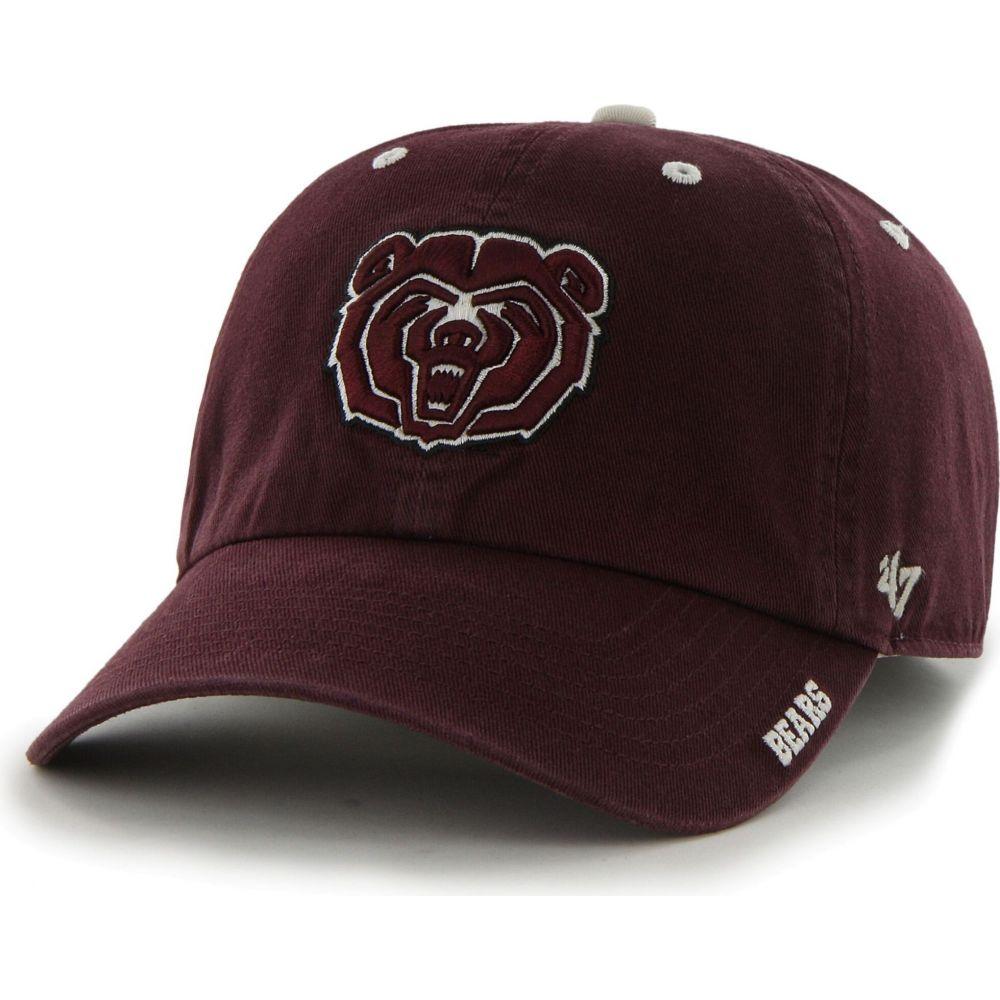 メンズ帽子, キャップ  47 Missouri State Bears Maroon Ice Clean Up Adjustable Hat