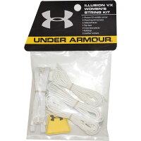 アンダーアーマー Under Armour レディース ラクロス 【Illusion V Lacrosse String Kit】White