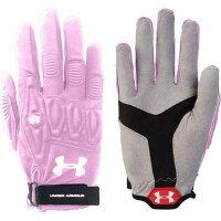 アンダーアーマー Under Armour レディース ラクロス グローブ【Illusion Lacrosse Field Gloves】Pink