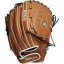 ウィルソン Wilson ユニセックス 野球 グローブ【12.5'' A950 Series Fastpitch Glove】Brown 2