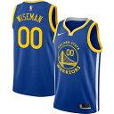 ナイキ Nike メンズ トップス ドライフィット【Golden State Warriors James Wiseman #33 Blue Dri-FIT Swingman Jersey】