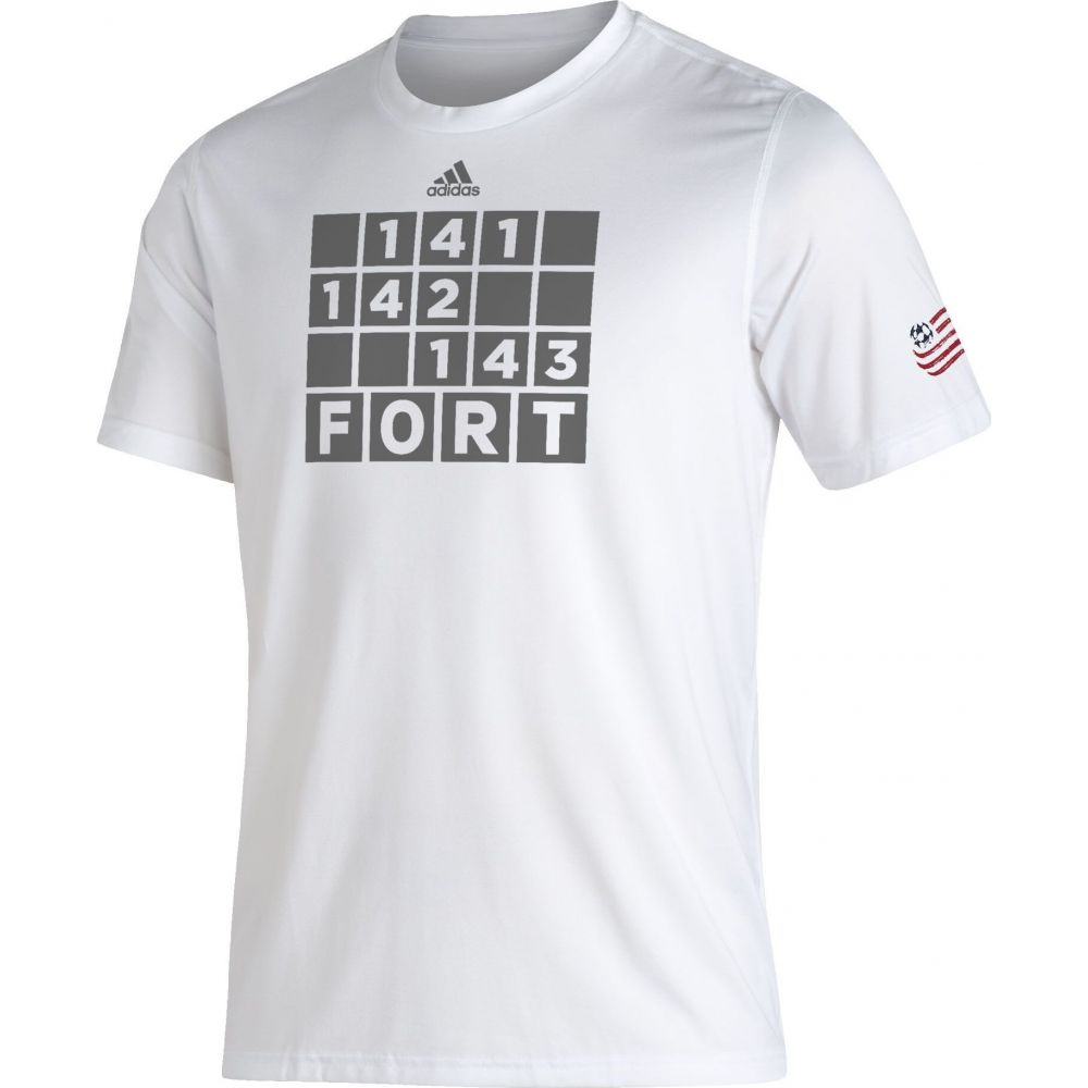 メンズウェア, シャツ  adidas T New England Revolution White Kickoff Creator Performance T-Shirt