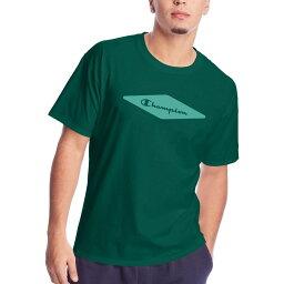 チャンピオン Champion メンズ ラクロス Tシャツ トップス【Diamond Classic Graphic T-Shirt】Jewel Jade