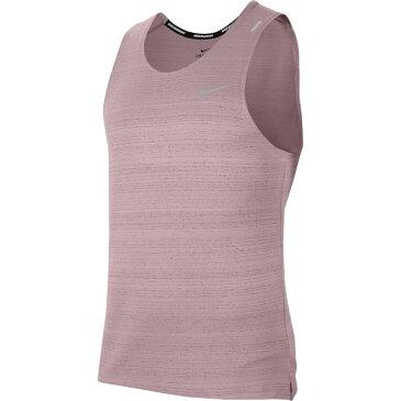 ナイキ Nike メンズ ランニング・ウォーキング ドライフィット タンクトップ トップス【Dri-FIT Miler Running Tank Top】Plum Chalk