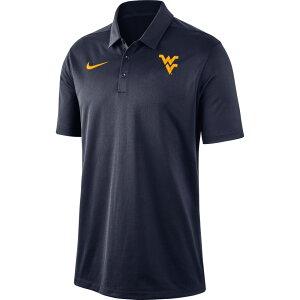 ナイキ Nike メンズ ポロシャツ ドライフィット トップス【West Virginia Mountaineers Blue Dri-FIT Franchise Polo】