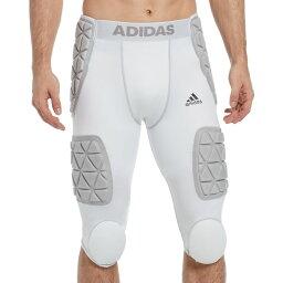 アディダス adidas メンズ アメリカンフットボール ガードル プロテクター【Adidas Adult Techfit 7 Pad Integrated Football Girdle】White