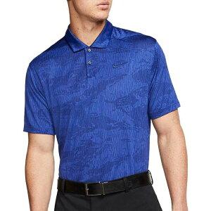 ナイキ Nike メンズ ゴルフ ドライフィット ポロシャツ トップス【Dri-FIT Vapor Camo Golf Polo】Blue Void