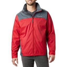 コロンビア Columbia メンズ レインコート アウター【Glennaker Lake Rain Jacket】Mountain Red/Graphite