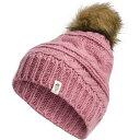 ザ ノースフェイス The North Face ユニセックス ニット ビーニー 帽子【Adult Triple Cable Beanie】Mesa Rose Heather