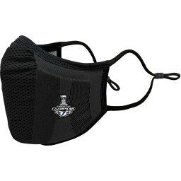 レベルウェア Levelwear ユニセックス 雑貨 デザインマスク ブランド【Adult Tampa Bay Lightning 2020 Stanley Cup Champions Guard 3 Black Face Mask】