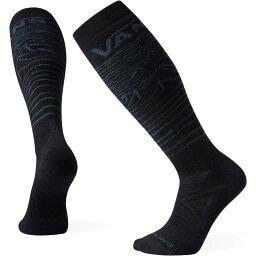 スマートウール SmartWool ユニセックス ソックス インナー・下着【Smartwool Snow VANS Bryan Iguchi Medium Over the Calf Socks】Black
