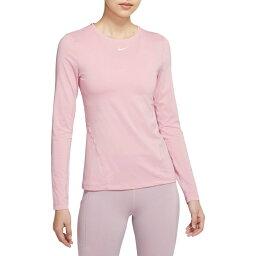 ナイキ Nike レディース ラクロス トップス【Pro Mesh Long Sleeve Shirt】Pink Glaze