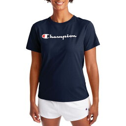 チャンピオン Champion レディース ラクロス Tシャツ トップス【Classic T-Shirt】Athletic Navy