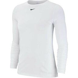 ナイキ Nike レディース ラクロス トップス【Pro Mesh Long Sleeve Shirt】White