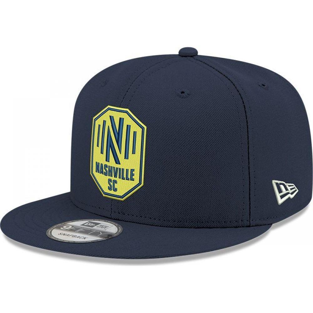メンズ帽子, キャップ  New Era Nashville SC Navy 9Fifty Adjustable Hat