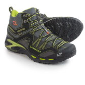 ガルモント Garmont メンズ ハイキング シューズ・靴【9.81 Trail Pro II Mid Gore-Tex Hiking Boots - Waterproof 】Black/Green