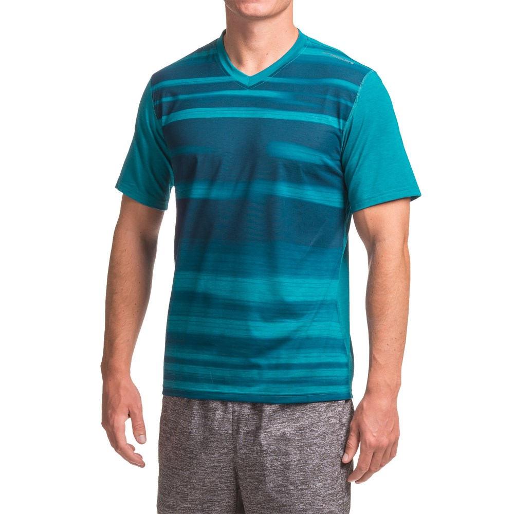 ブルックス Brooks メンズ ランニング ウェア【Fly-By Running Shirt - Short Sleeve 】Heather River Blur