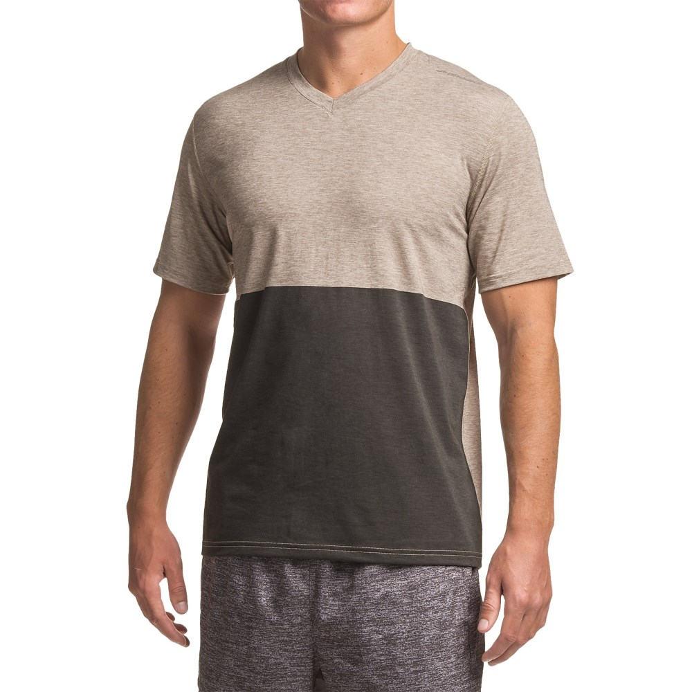 ブルックス Brooks メンズ ランニング ウェア【Fly-By Running Shirt - Short Sleeve 】Heather Carb/Black