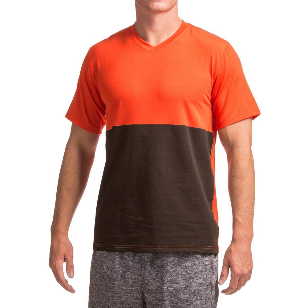 ブルックス Brooks メンズ ランニング ウェア【Fly-By Running Shirt - Short Sleeve 】Heather Desert/Asphalt