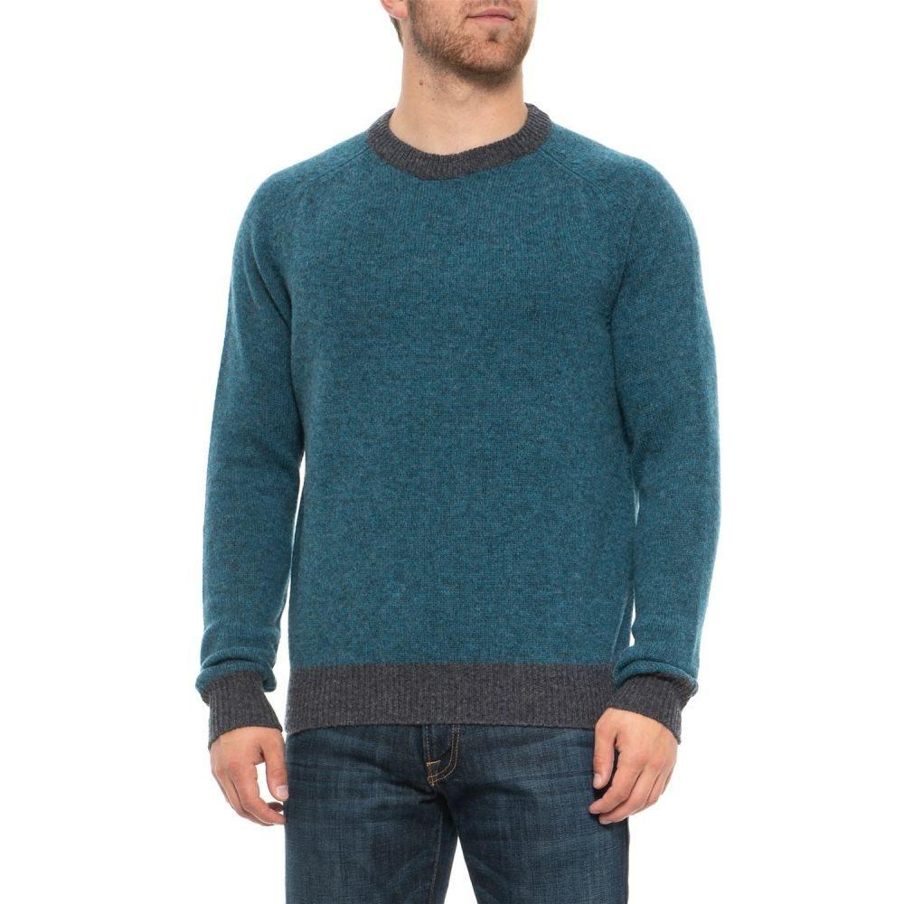 トップス, ニット・セーター  Bills Khakis Supersoft Shetland Crew Neck Sweater - WoolTeal Heather