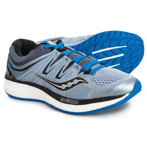 サッカニー Saucony メンズ ランニング・ウォーキング シューズ・靴【Hurricane ISO 4 Running Shoes】Grey/Blue/Black