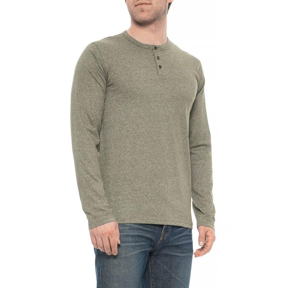 メンズファッション, その他 MTL Henley Shirt - Long SleeveOlivine