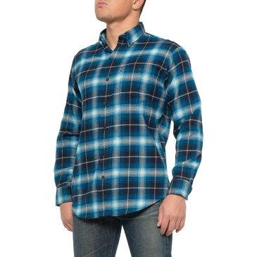 ジーエイチ バス G.H. Bass & Co. メンズ シャツ フランネルシャツ トップス【Navy Blazer Through-Pocket Flannel Shirt - Long Sleeve】Navy Blazer