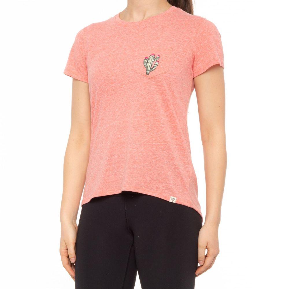 登山・トレッキング, その他  LIV OUTDOOR flow pocket t-shirt - short sleeveRanuculusCactus