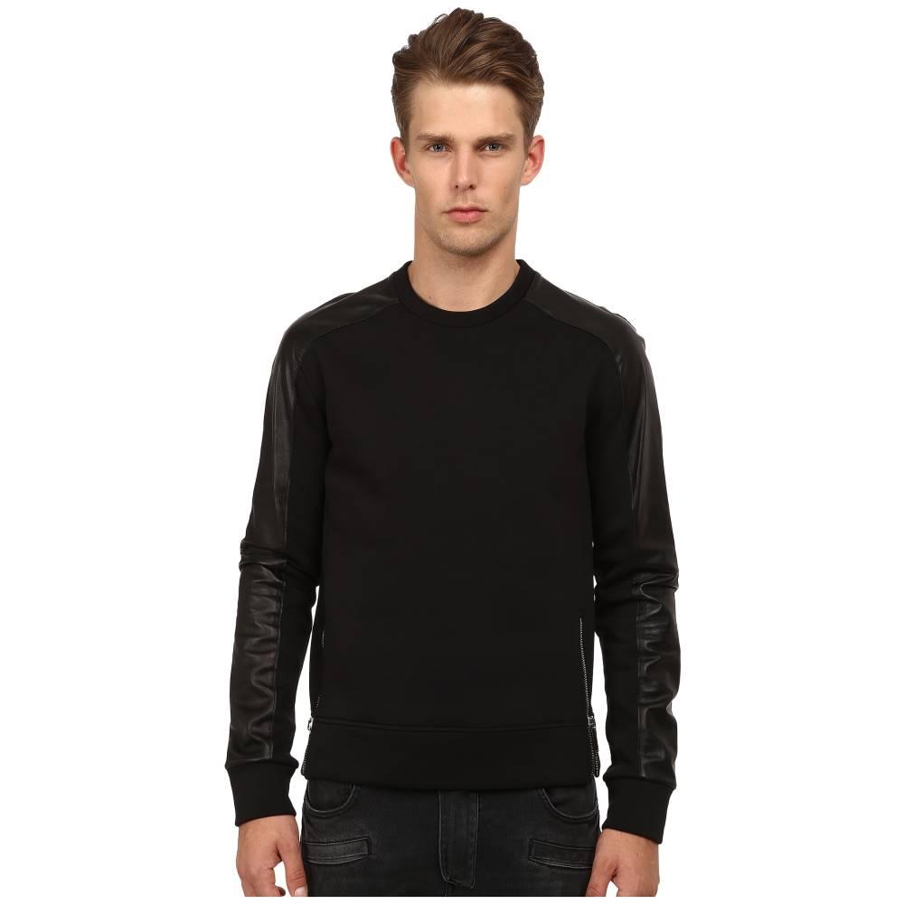 コスチューム ナショナル CoSTUME NATIONAL メンズ トップス Tシャツ【Color Block Shirt with Zippers】Nero:フェルマート
