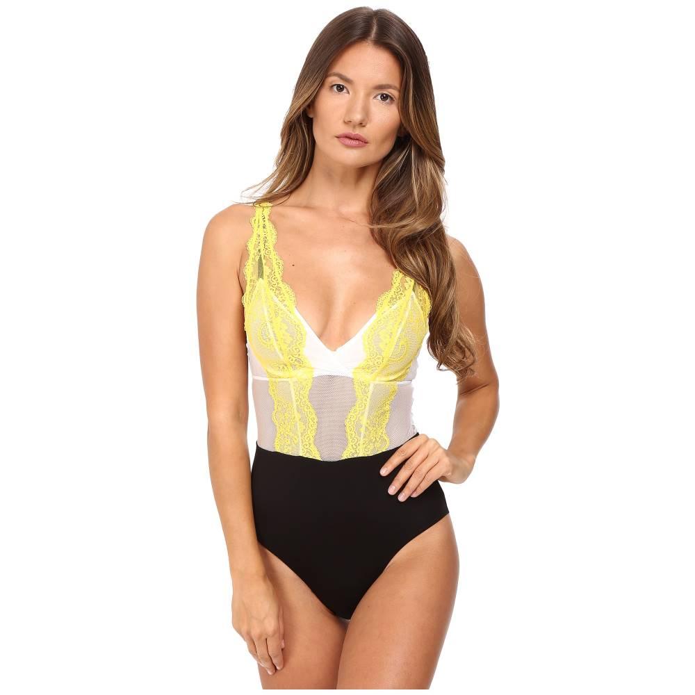 ラ ペルラ La Perla レディース インナー ボディスーツ【Jazz Time Bodysuit】Yellow:フェルマート