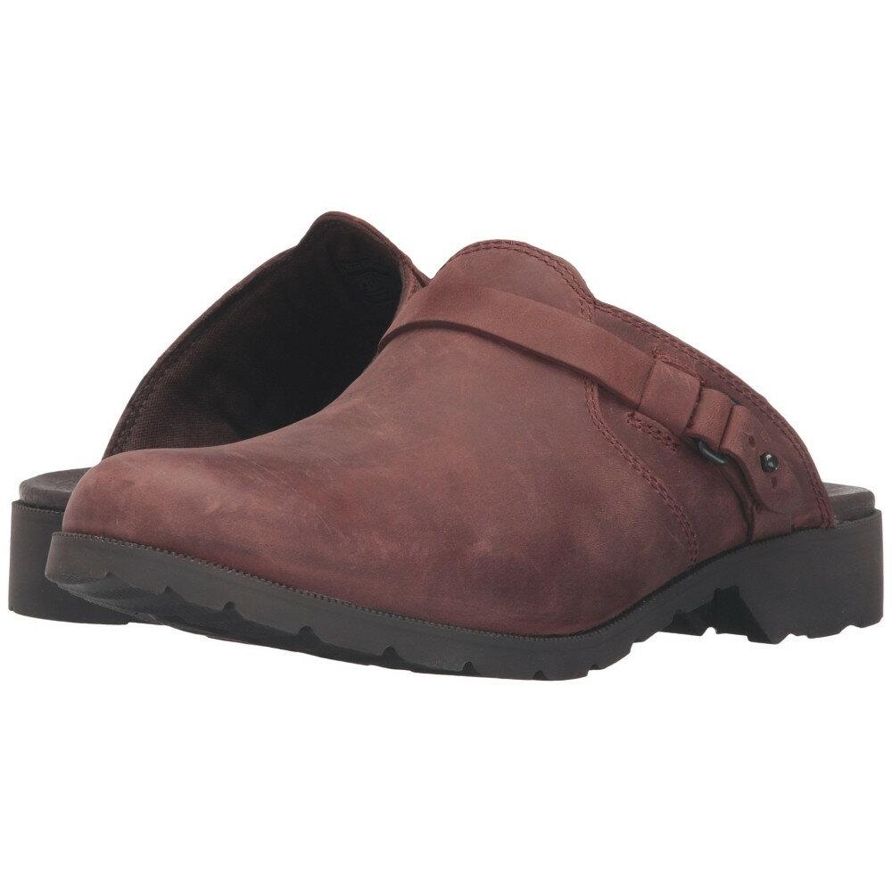 テバ レディース シューズ・靴 サンダル・ミュール【Delavina Mule】Adobe Brown