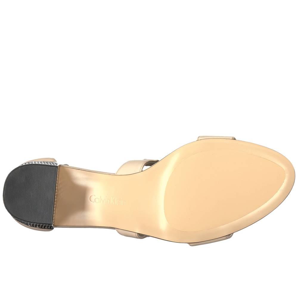 カルバンクライン レディース シューズ・靴 サンダル・ミュール【Natania】Sand Leather