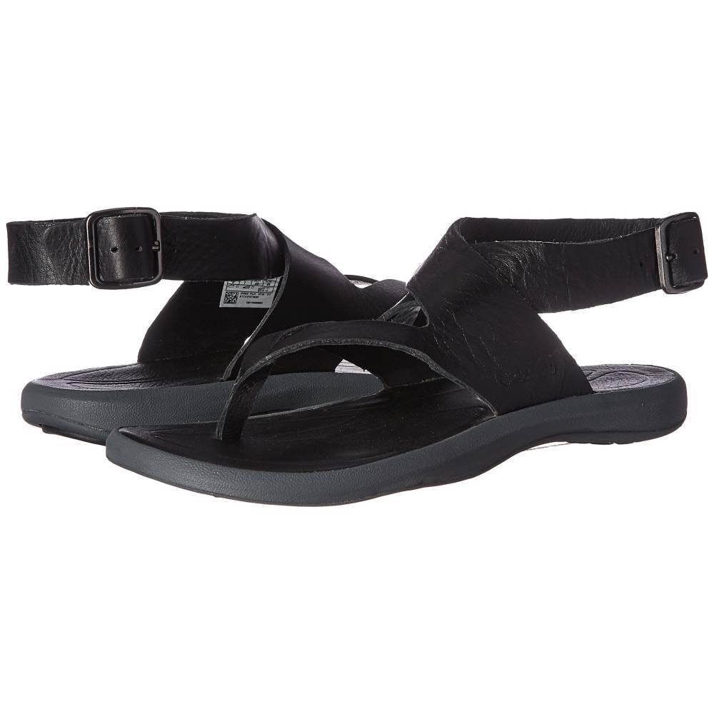 コロンビア レディース シューズ・靴 サンダル・ミュール【Caprizee Leather Sandal】Black/Graphite