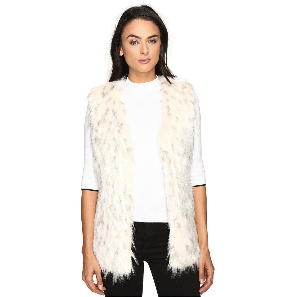 Coats, Jackets & Vests Size S Faux Fur And Suede Ladies Gillet Clothing, Shoes & Accessories