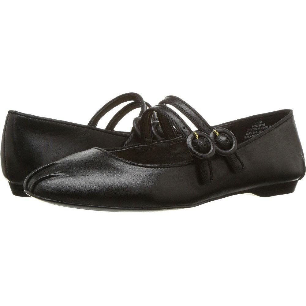 ナインウェスト レディース シューズ・靴 スリッポン・フラット【Xrye】Black/Black Leather