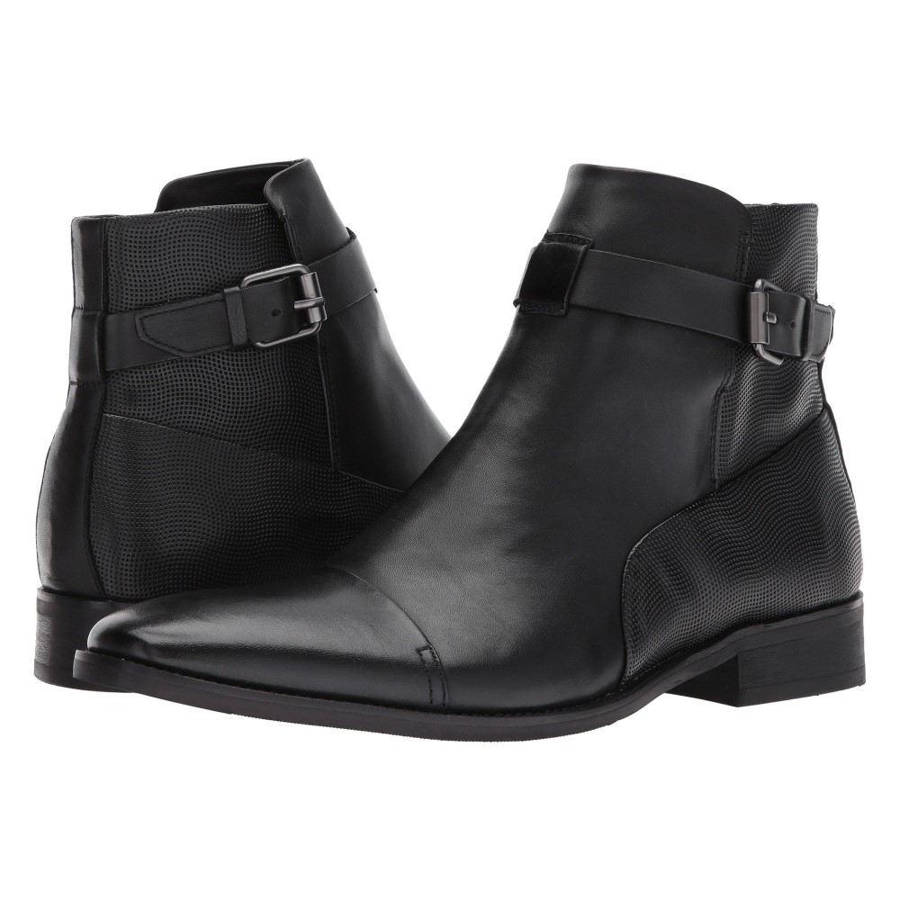 edb696c5a523 カルバンクライン メンズ シューズ・靴 ブーツ【Rafael】Black Dress Calf/Wave Grid Emboss カルバンクライン  メンズ シューズ・靴 ブーツ Black Dress Calf/Wave ...