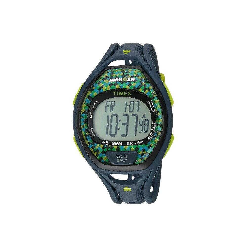タイメックス メンズ 腕時計【Ironman Sleek 50 Full-Size Resin Strap】Blue/Green