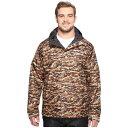コロンビア メンズ アウター レインコート【Big & Tall Watertight' Printed Jacket】Rustic Brown Camo