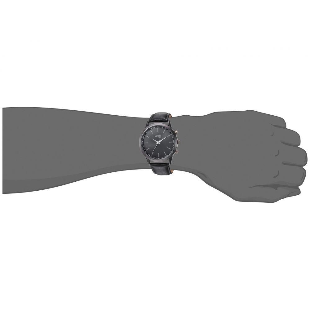 スティーブ マデン メンズ 腕時計【SMMW012】Black